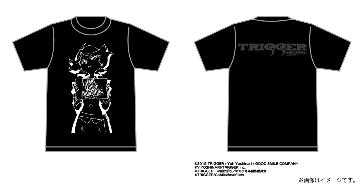 TRIGGER EXPO: Little Witch Academia Amanda T-Shirt